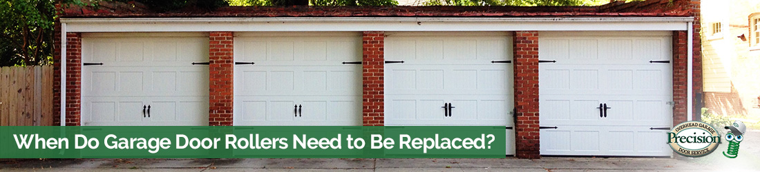 garage door rollers replaced