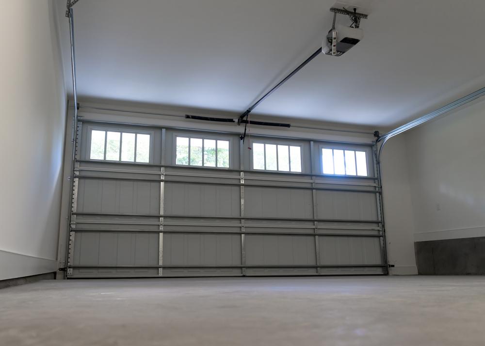 Insulated Garage Door with photo eyes sensors