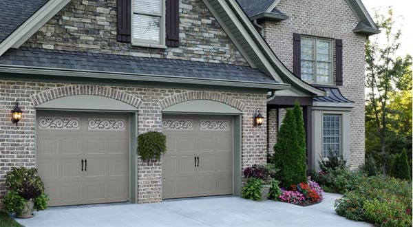 House with Two Garage Doors