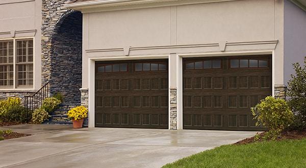 Oak Summit Style Garage Door