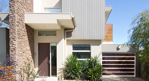 Modern Home Garage Door
