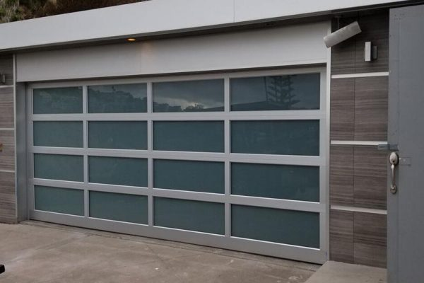 Glass Panel Garage Door