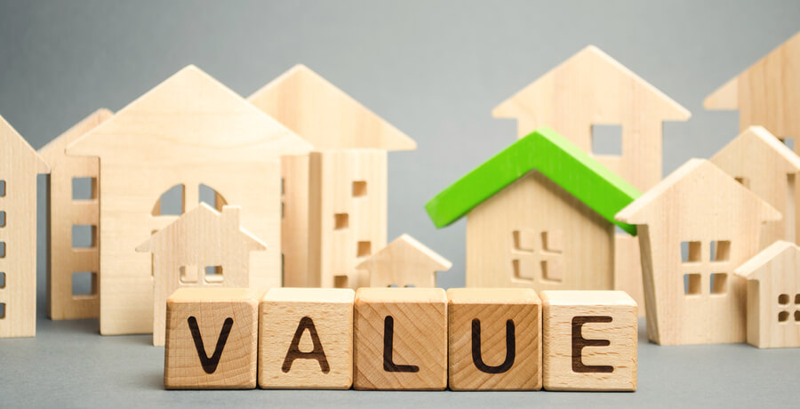 value and home model wooden blocks
