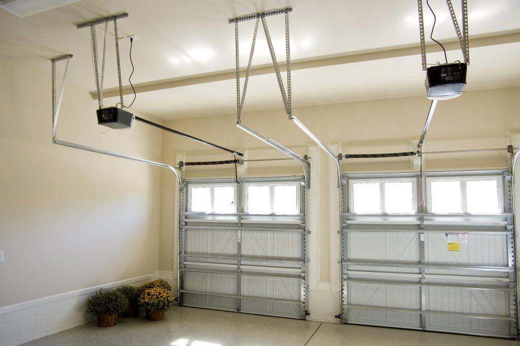 Residential-house-2-car-garage-interior