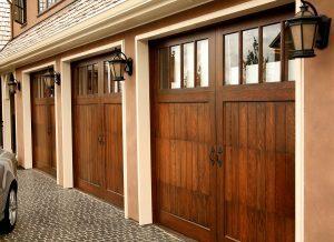 Three-Car-Garage-Wooden-Carriage-Garage-Doors
