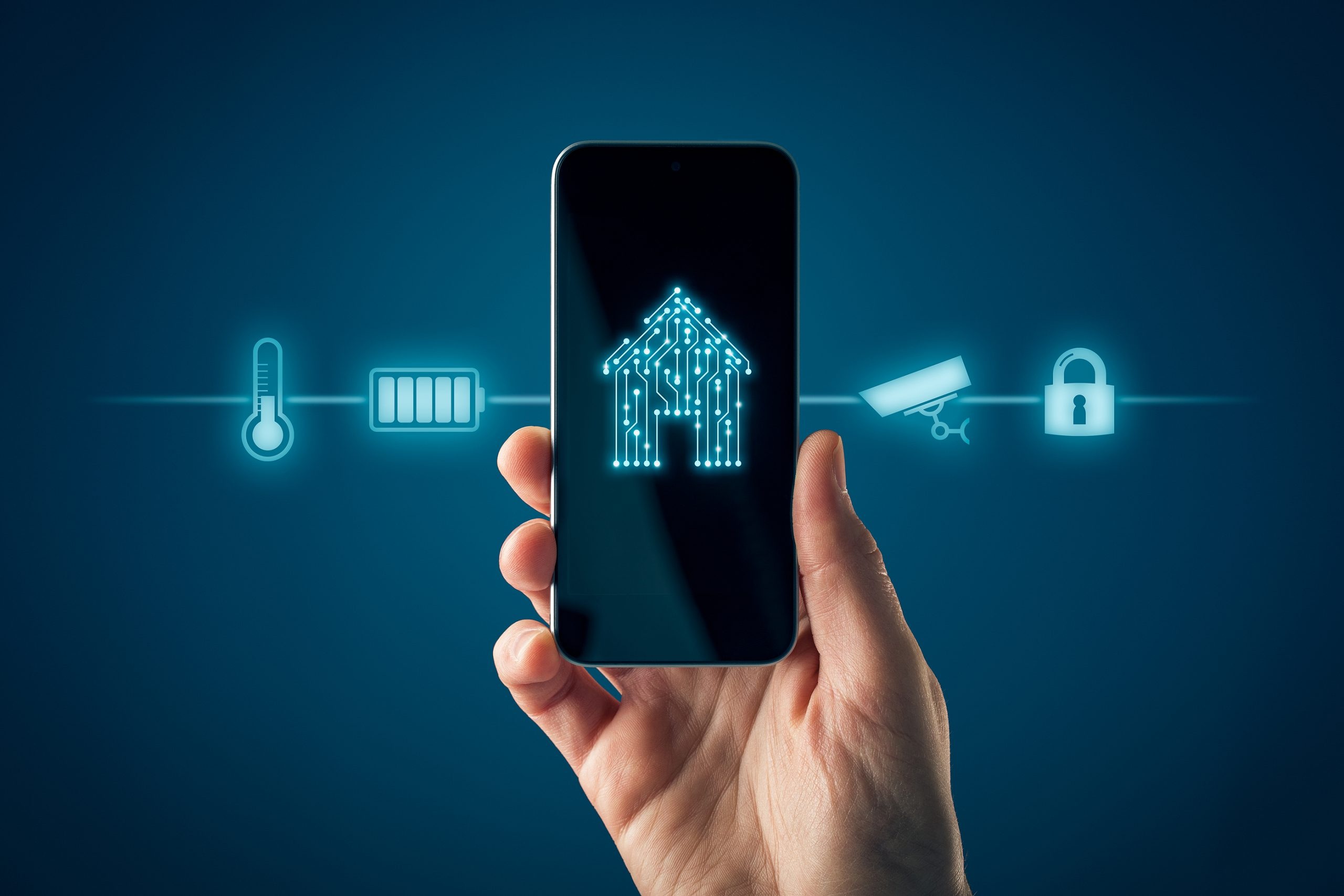Smart-Home-App-Home-Automation-Concept-Garage-Door
