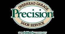 Precision Garage Doors | Las Vegas Logo