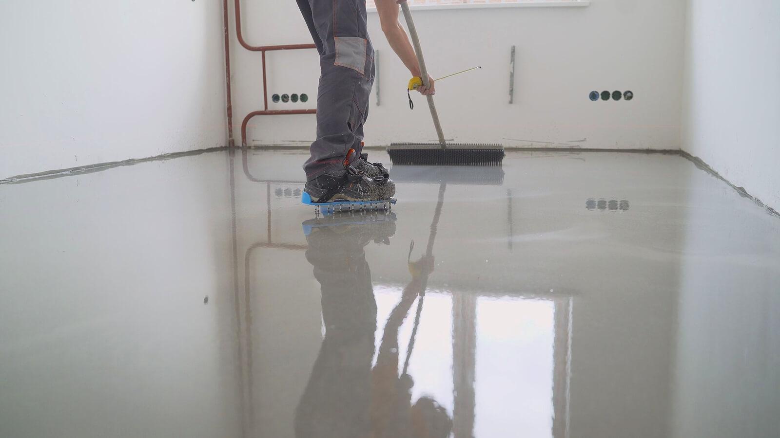 Fix Pitted Garage Floor